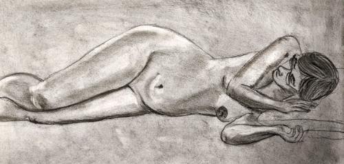 Keith Brown Life Drawing