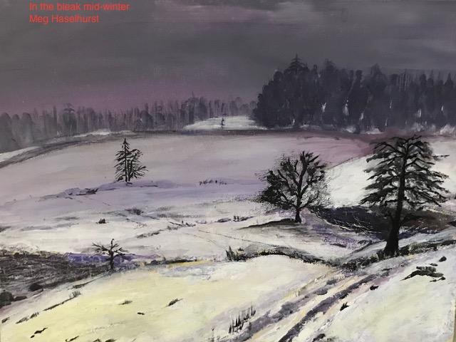 """Meg Haselhurst """"In the Bleak Mid-winter"""""""