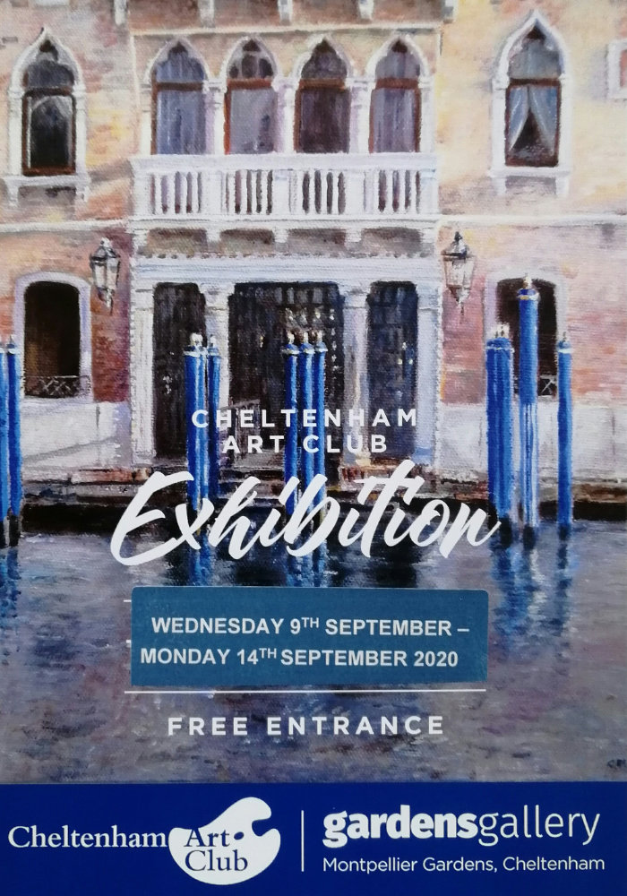 Cheltenham Art Club September 2020 Exhibition