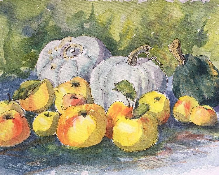 Apples and Squashes