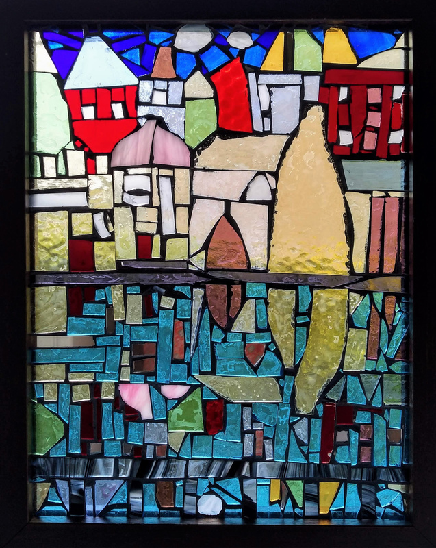 Reflections, Early Mosaic, glass