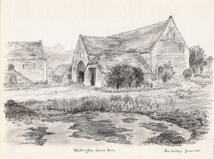 Eric Miller, Whittington Court Barn