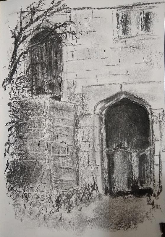 Dai Williams, Whittington Court Sketch